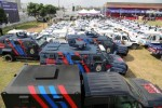 Photos: See The Helicopters,Gun Boats, Armoured Personel Carriers Governor Ambode Commisioned Today