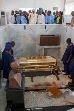 More Photos: President Buhari, VP Osinbajo Condoles Awolowo Family As HID Is Laid To Rest