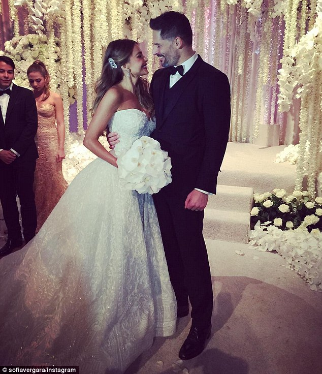 She's Married! Stunning Photos From Actress Sofia Vergara's Star Studded Wedding To Joe Manganiello
