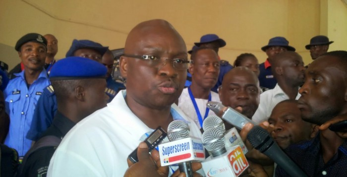 'At 63, Lai Mohammed Still Tying Corn On His Anus' – Fayose Blasts Information Minister
