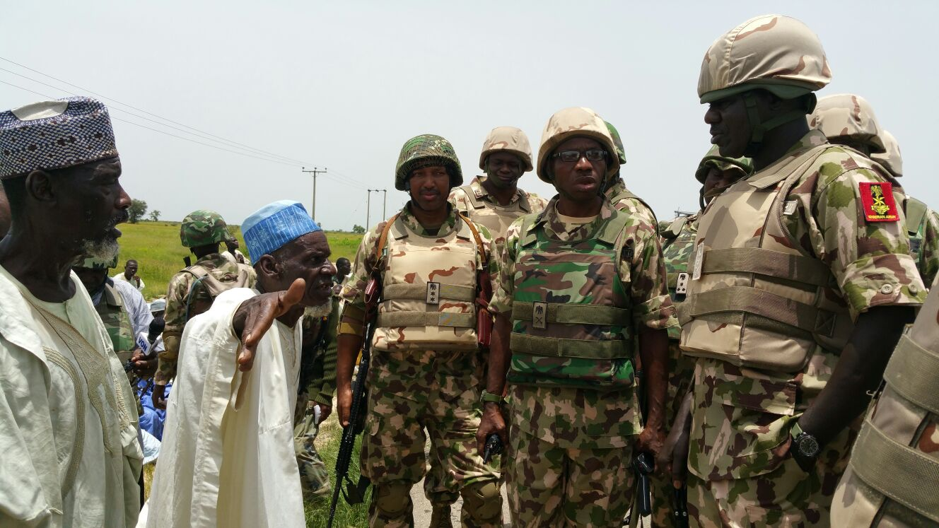 Nigerian Army Keeps Mum As Photo Of Dead Nigerians In Military Uniform Surfaces Online(LOOK)