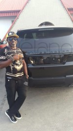 Retired Nigerian Footballer Etim Esin Acquires 2015 Range Rover(Photos)