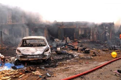 Suicide Bomber Hits Maiduguri