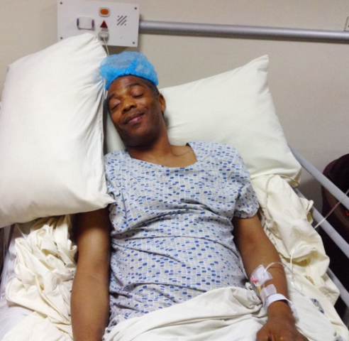 Photo: Femi Kuti Recovering After Undergoing Operation