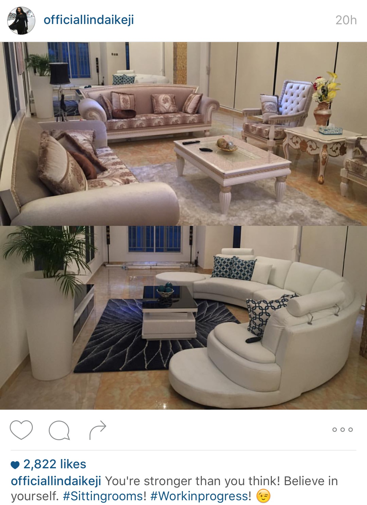 Blogger Linda Ikeji Shares More Photos From Her Mansion