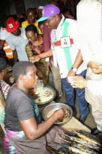 Photo: Governor Wike Spotted Buying Fish