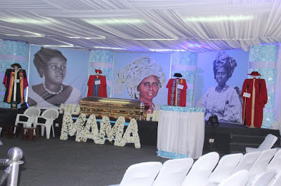 Photos: HID Awolowo's Golden Casket As Matriarch Finally Goes Home