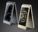 BEAUTIFUL! Check Photos Of Samsung's New Dual Screen Flip Phone W2016