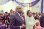 Never Too Late: 52 Year Old Woman Married For The First Time To 56 Year Old Man(Photos)