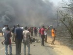 Graphic Photos: At Least 20 Burnt To Death From Gas Depot Explosion In Nnewi Anambra State