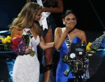 TV Disaster Of The Year! Steve Harvey Wrongly Announces Miss Columbia As Winner Of Miss Universe, Contestant Had To Take Off Crown For Real Winner Miss Phillipines (Photos)