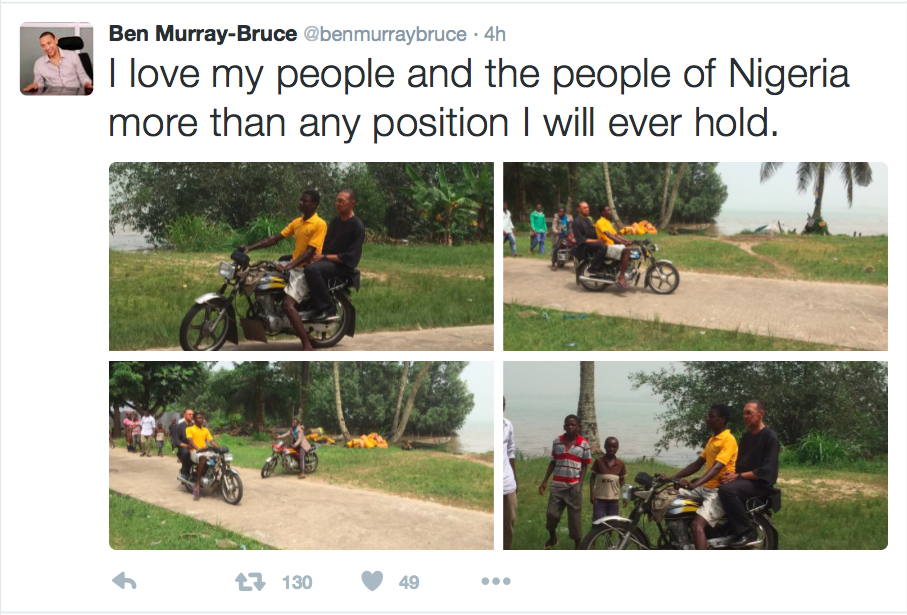 Photos: Ben Murray Bruce Donates Half Of Wardrobe Allowance To Widows