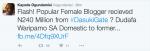 #Dasukigate: Kayode Ogundamisi Says Popular Lagos Blogger Received N240 Million