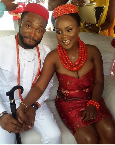 Photos From Actor Blossom Chukwujekwu's Traditional Wedding Yesterday