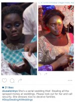 E-X-P-O-S-E-D: Face Of Alleged Notorious Lagos Wedding Thief Revealed By Instagrammer