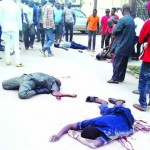 Drunk Police Man Kills Twin Brothers, Their Friend, Himself In Lagos(Photos)