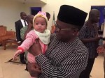 Awwww…Benue Governor And Wife Adopt Abandoned Baby Girl