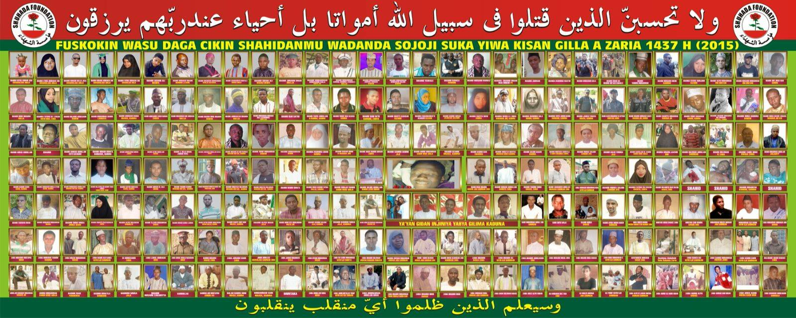 #WhereIsICC: Shi'ite Sect Declares 705 Members Missing , Releases Full List, Pictures