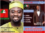 Mercy Johnson's Husband Odi Okojie Joins Race For Edo State Deputy-Governor
