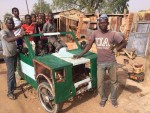 See Car SS3 Student Built In Kebbi And Drove To School