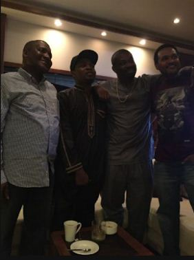 Finally, Photo Proving That Dangote Settled Olamide And Donjazzy's Beef Emerges Online(LOOK)