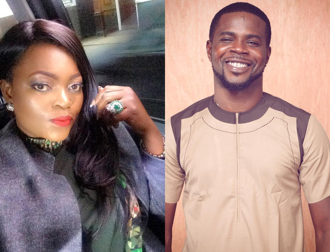 Couple Alert: Actress Funke Akindele And JJC Skillz Allegedly In HOT Romance