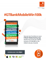GTBank To Reward Mobile Banking Customers With 100k