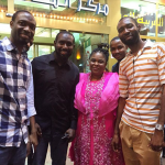 Spotted: Former First Lady Patience Jonathan With Some Nigerians In Dubai(LOOK)
