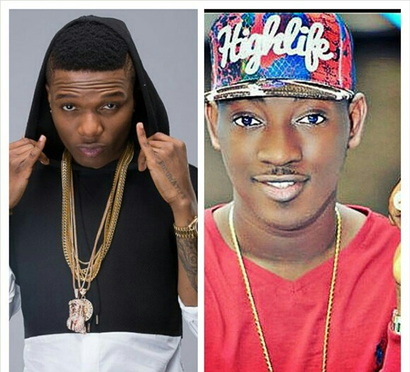 Not A Publicity Stunt After all: Wizkid Breaks Bottle On Dammy Krane's Head At Quilox Night Club