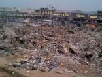 Photos: Lagos State Government Demolishes Oshodi Market