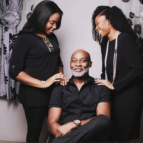 Veteran Actor RMD Shows Off Beautiful Daughters