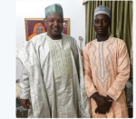 Kebbi State Governor Hosts SS3 Student Who Built Functional CarFrom Scrap (Photo)