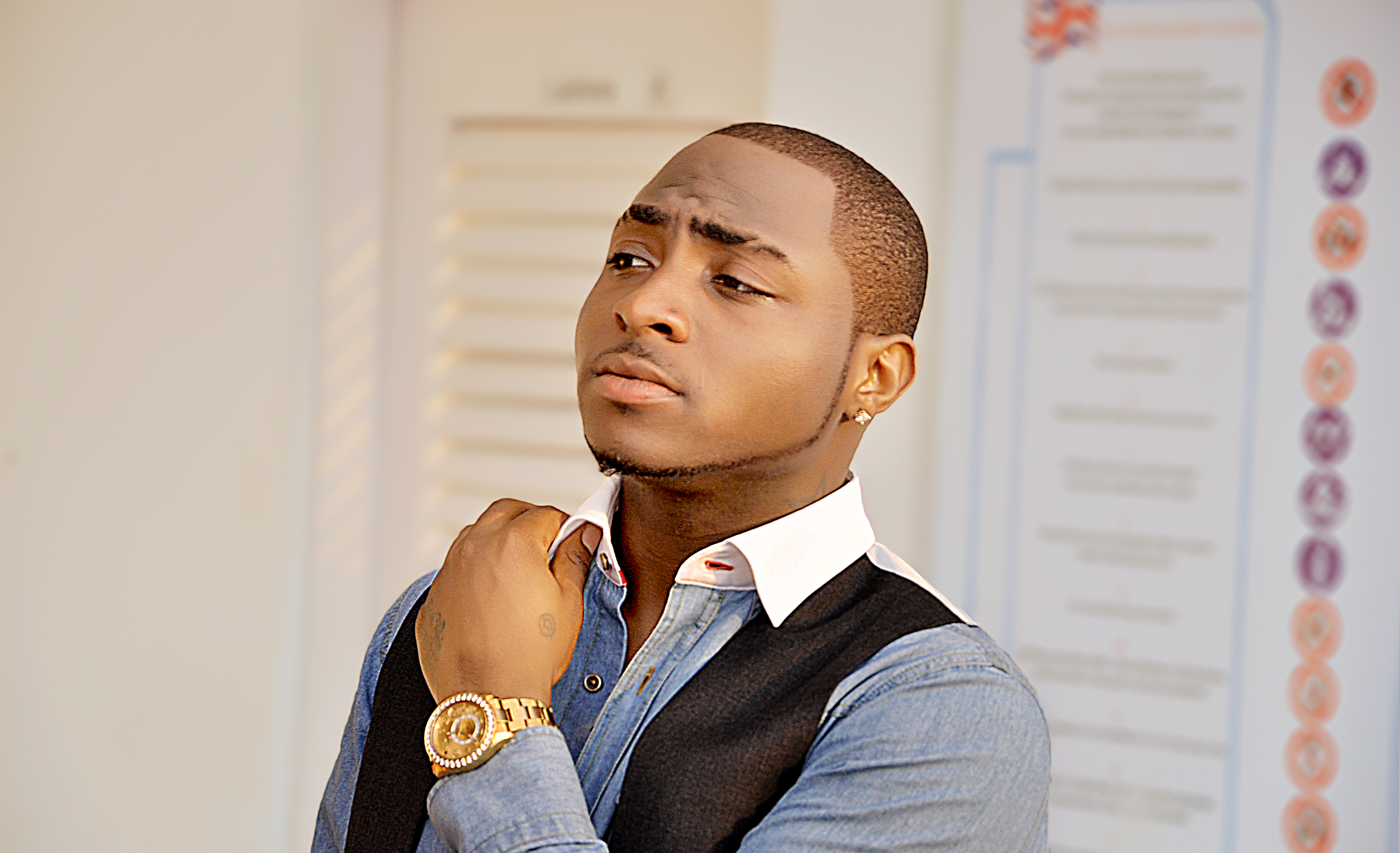 Davido Confined To Hospital Bed Over Undisclosed Illness
