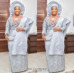 Al Hail The Regal Bride! First Photo Of OAP Toolz From Her Traditional Wedding ( #Tsquare2016)