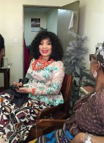 First Photos Of Actress Monalisa Chinda From Her Traditional Wedding Today