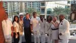 Photos From COZA Pastor Biodun Fatoyinbo's All White Yacht Birthday Party At Burj Khalifa, Dubai