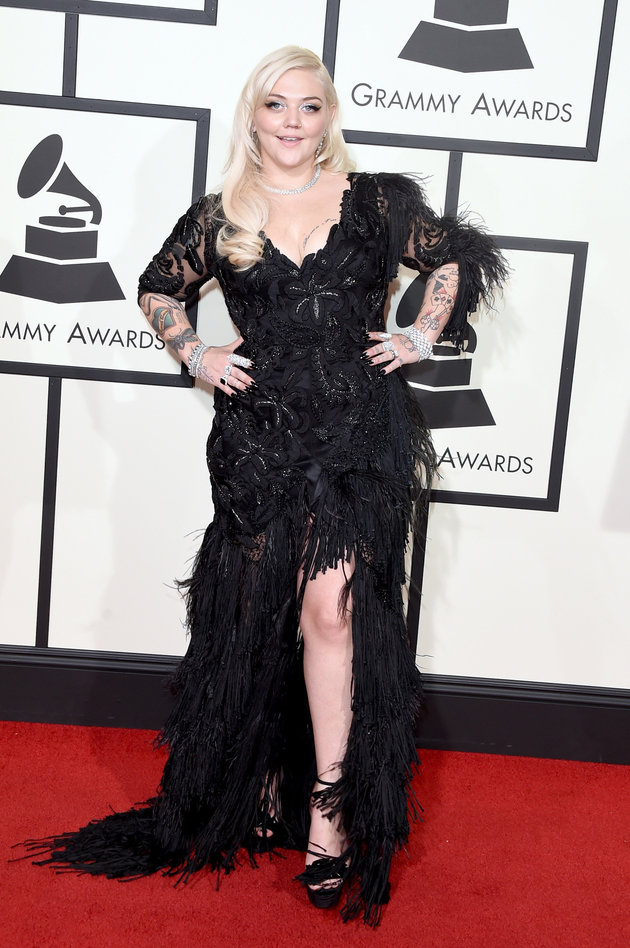 LOS ANGELES, CA - FEBRUARY 15: Singer Elle King attends The 58th GRAMMY Awards at Staples Center on February 15, 2016 in Los Angeles, California. (Photo by Jason Merritt/Getty Images for NARAS)
