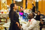 Is This The Best Nigerian Proposal Ever? Man Proposes To Girlfriend With Flashmob, Disguises Himself As Waiter