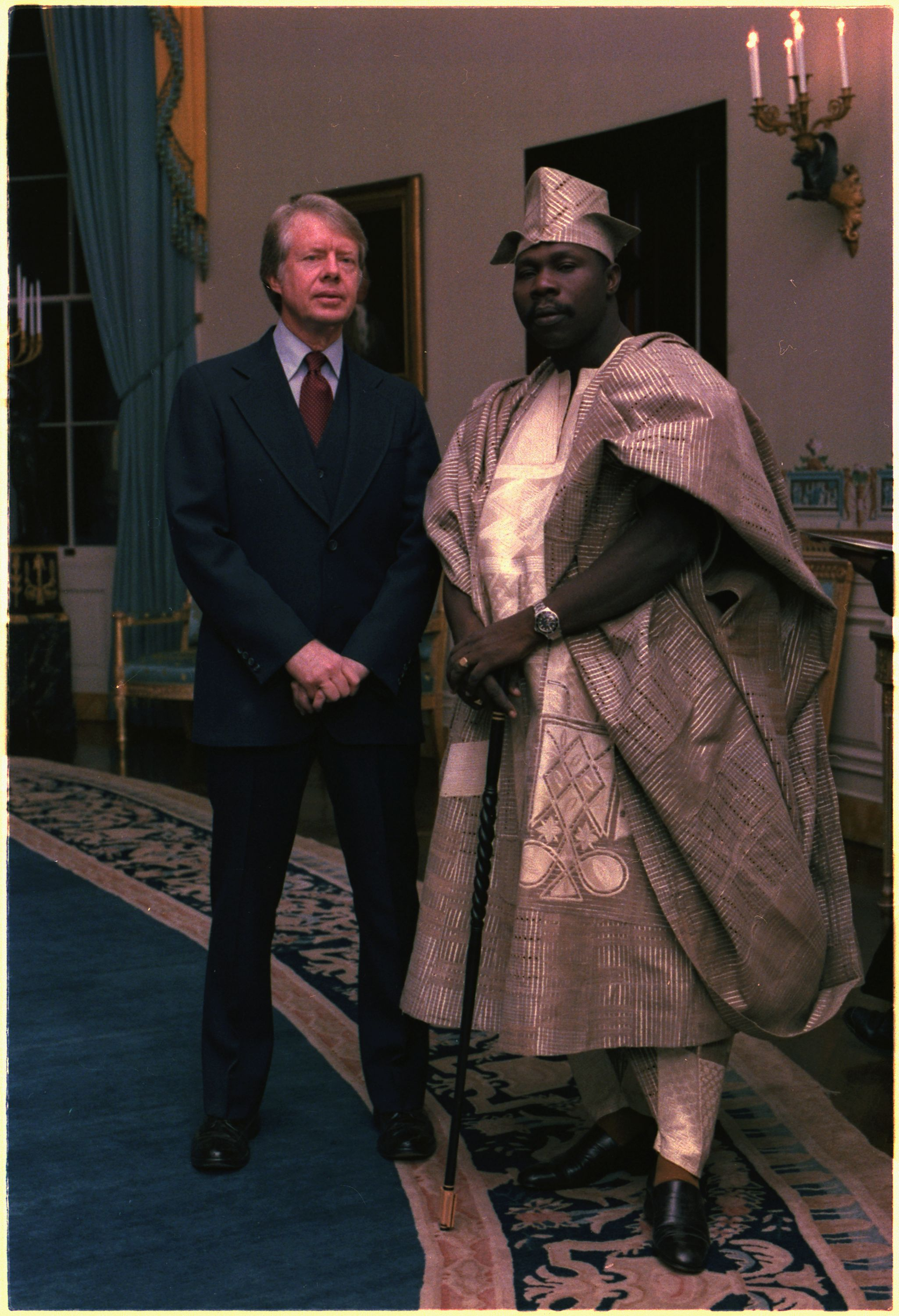 Fashion Throwback: Another Epic Photo Of Obasanjo And His SWAG