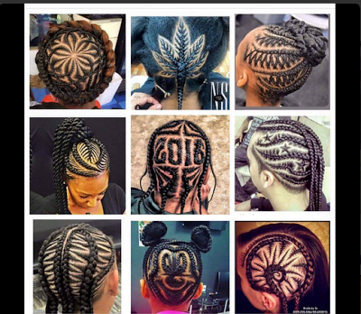 Say No To Brazilian Hair: Guys These Creative Hair Weaving Styles Will Blow Your Mind