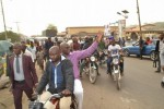 Fayose Rides Okada As He Inspects Water Fetching Points In Ekiti