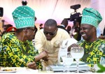 Olamide Pictured With President Buhari At Ogun State's 40th Anniversary Celebration