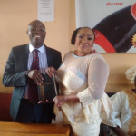 It's Official: Photos From Actress Foluke Salako's Court Wedding This Morning