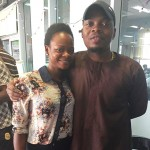 Photo Of The Day: Olajumoke Pictured With Rapper Olamide Today