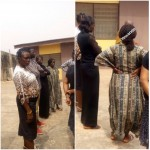 Update: Woman Who Stabbed Husband To Death In Ibadan Returns To Crime Scene(Photos)