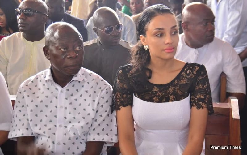 Gov Oshiomole's Wife Iara Fortes Allegedly Filing For A Divorce???