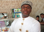 Spotted: Transport Minister Rotimi Amaechi Spotted At Port Harcourt Eatery Today