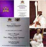 Ooni of Ife Oba Adeyeye Ogunwusi Set To Wed Next Saturday In Edo State,Details + Wedding Invitation