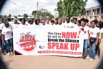 Photos And Video:Walk Against Rape Campaign 2016