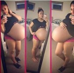 Woman Who Broke Internet With Huge Baby Bump Delivers Twins(Photos)